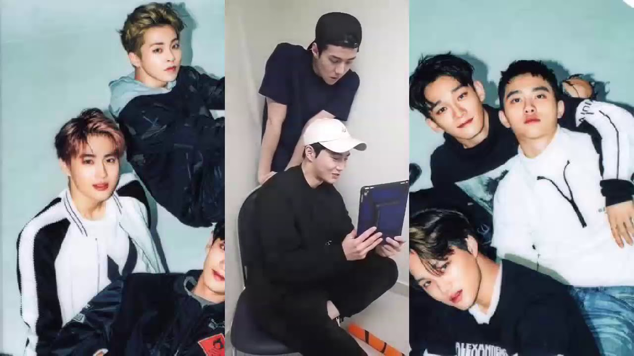 Exo Chanyeol Instagram Live With Suho And Sehun March 18 2018