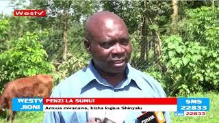 Mwanamume amuua mwanawe na kujiua kwa kunywa sumu Shinyalu