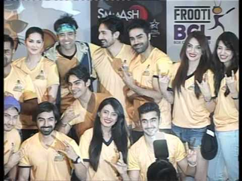 LAUNCH OF TEAM GEAR OF CHENNAI SWAGGERS BCL TEAM WID SUNNY LEONE