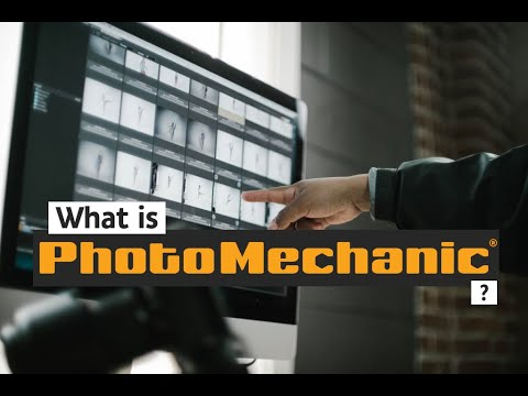 What Is Photo Mechanic?