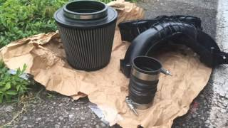 2011 F250 Manifold and intake cleaning Topside cleaning