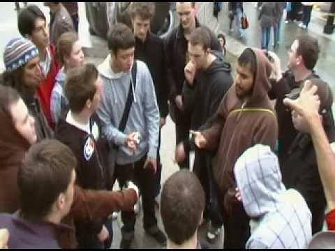 Trafalgar Square - Boxcon09 Flash Jam