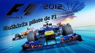 """Bref testons de nouveaux jeux [ Episode 4 ] """"Formula one 2012"""" la demo"""