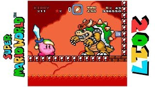 Kirby in Master Hand's Doomsday • Hack of Super Mario World