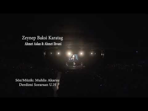 Ahmet Aslan Albüm Lansman - Zeynep Baksi Karatag&Ahmet İhvani BGM