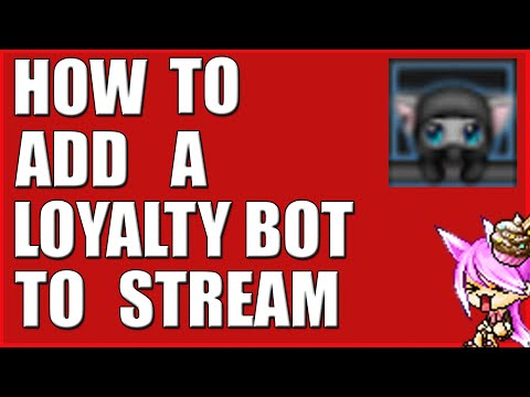 Twitch Tutorials - How To Add A Loyalty Bot To Stream (!points !bankheist !bet) AnkhBot