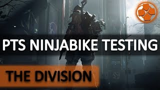 The Division 🔴 Update 1.7 PTS | Testing New Ninjabike Messenger Bag | PC Gameplay