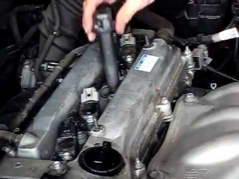 spark plug replacement 2006 rav4 youtube. Black Bedroom Furniture Sets. Home Design Ideas