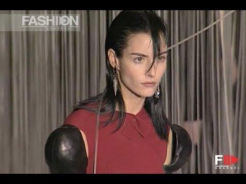 KARL LAGERFELD Fall Winter 1997 1998 Paris - Fashion Channel