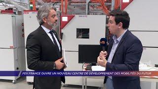 Yvelines | FEV France ouvre un nouveau centre de développement des mobilités du futur