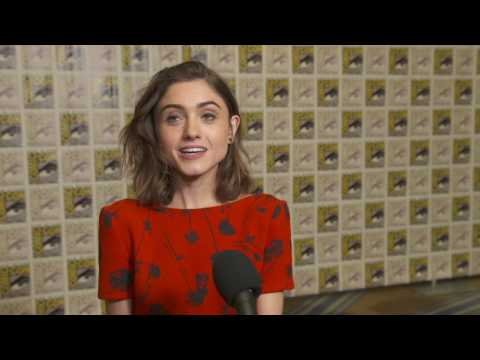 Stranger Things: Season 2: Natalia Dyer Nancy Wheeler Comic- Con 2017 Interview