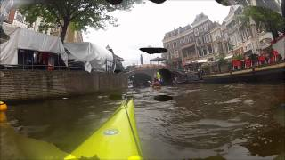 Leiden with kayak