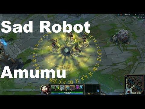 Sad Robot Amumu Skin Spotlight - League of Legends