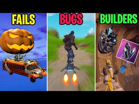 HOVERBOARD LEAKED IN SEASON 6! FAILS vs BUGS vs BUILDERS - Fortnite Funny Moments