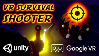 VR Survival Shooter 🎯 Virtual Reality for Unity 🎯 VR Shooter 🎯 FPS Unity Asset