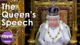 The Queen Addresses Parliament at State Opening