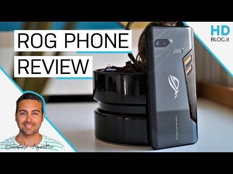 RECENSIONE ASUS ROG PHONE: il vero piacere del GAMING mobile