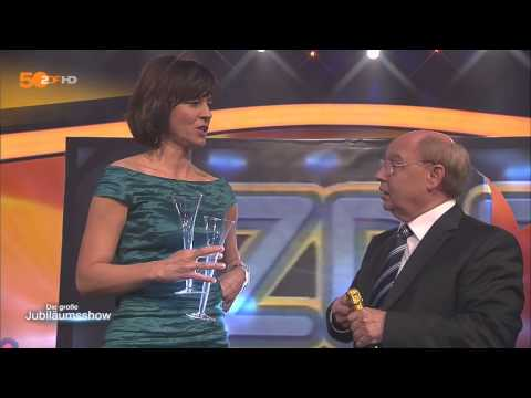 50 Jahre ZDF Jubliäum Heute  belegt den 1 Platz Gernot Hassknecht sagt DANKE goldenes Mainzelmännchen HD