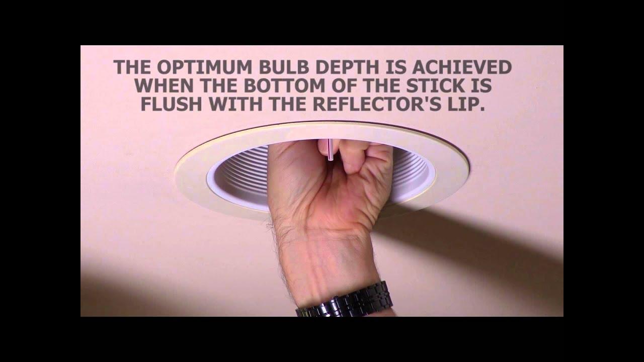 Adjusting the bulb depth youtube adjusting the bulb depth mozeypictures Gallery