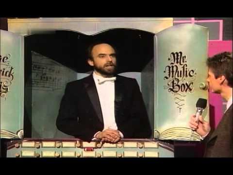 Günther Jauch - George Frederick Takis als singende Musikbox 1989