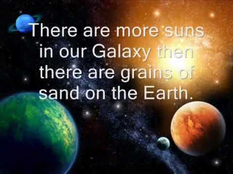 Amazing space facts youtube for About space
