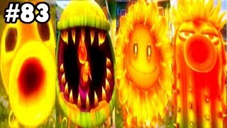 Plants vs. Zombies: Garden Warfare - All Fire Plants