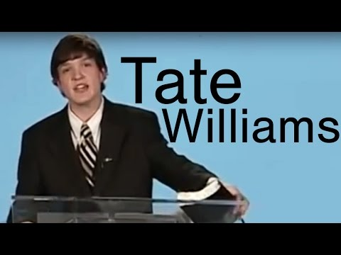 Tate Williams: A Tribute to a Great Young Preacher (Part 1)