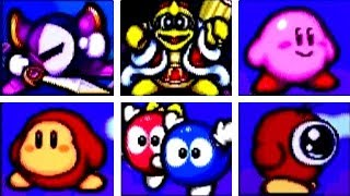 Kirby's Avalanche - All Character Intros
