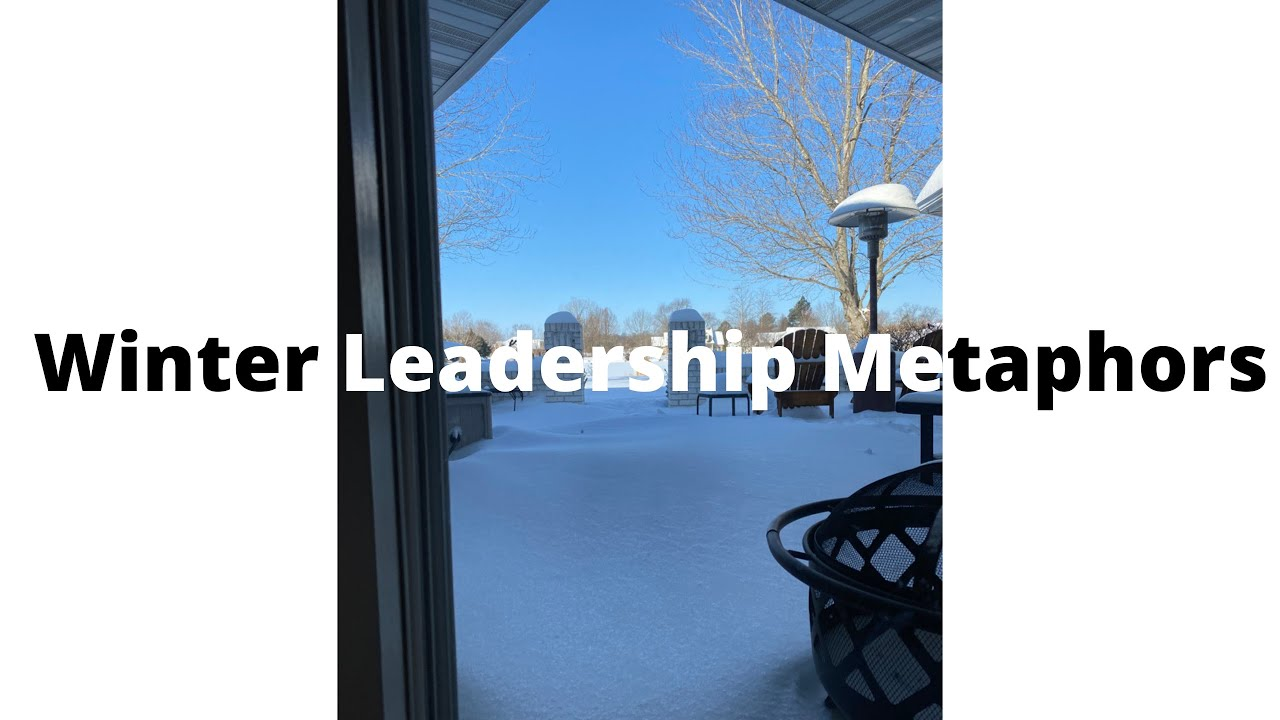 Cold Metaphors for Leadership