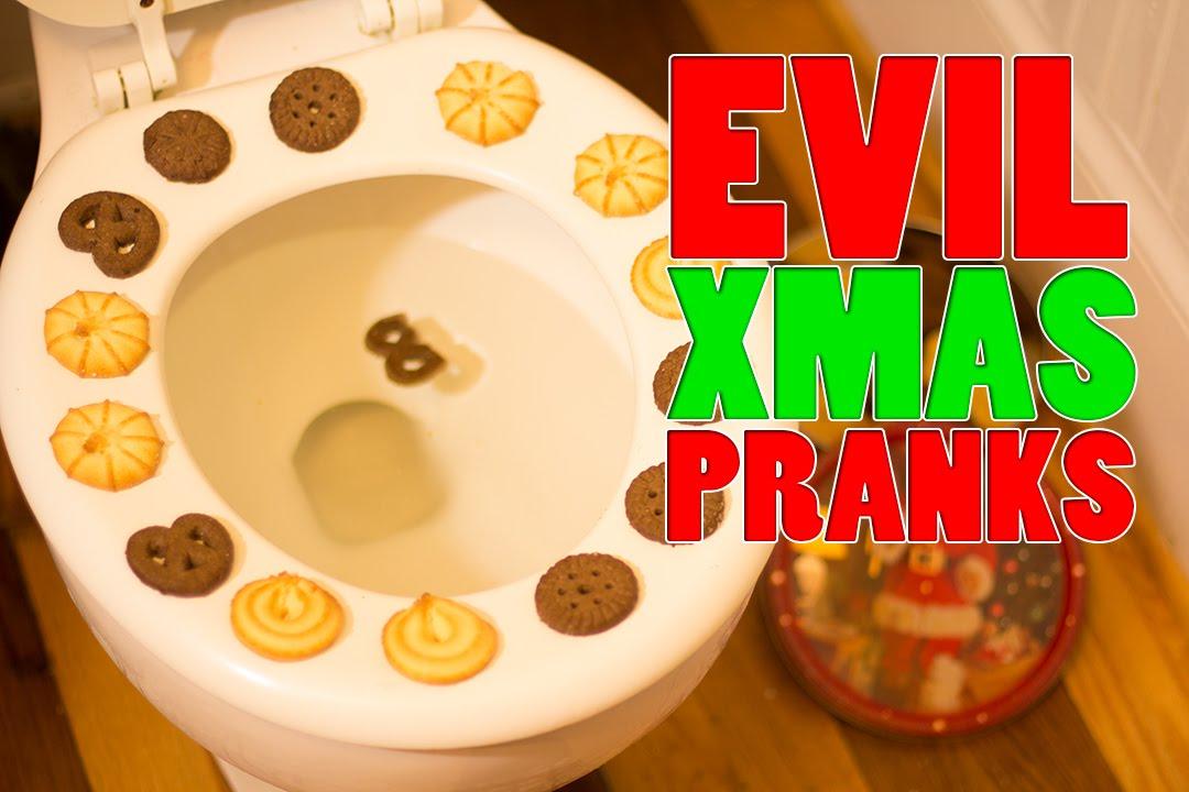 Christmas Pranks.Evil Xmas Pranks