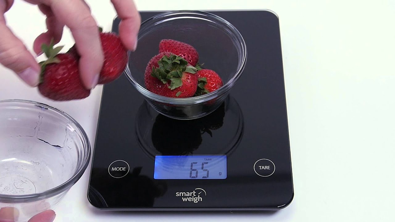 Smart Weigh - Digital Glass Kitchen Scale