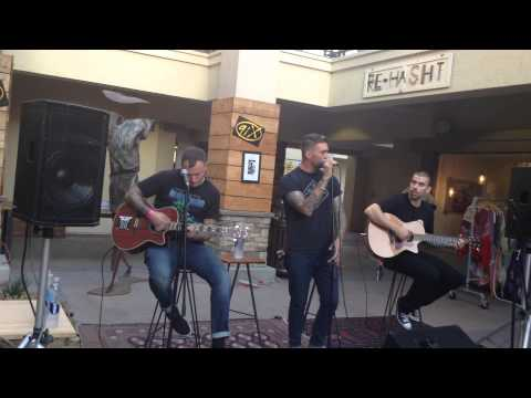 New Found Glory- Broken Sound. Acoustic Performance