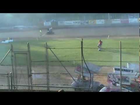 Derrick Eckman Heat Race