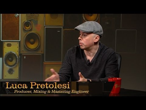 Mix/Mastering Engineer Luca Pretolesi - Pensado's Place #150