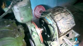 Лифтовой двигатель АС-62 после ремонта