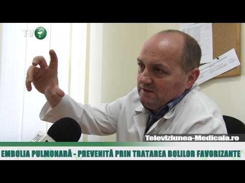 Embolia pulmonara - cauze, simptome, tratament