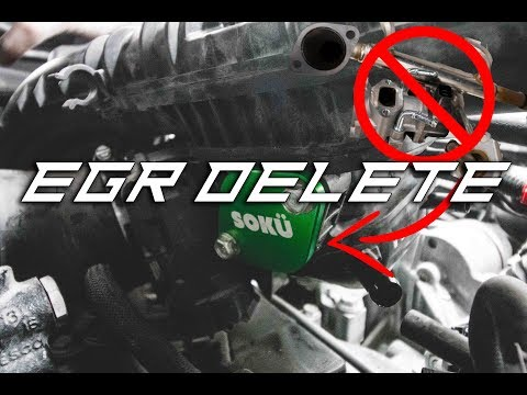 EGR Delete on my 2016 Subaru WRX   Installing Block-off Plates