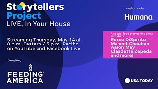 Storytellers Project Live, benefiting Feeding America | USA TODAY Network