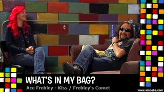 Ace Frehley (KISS) - What's In My Bag?
