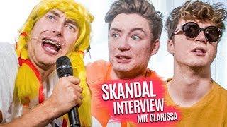 Clarissa interviewt Die Lochis... 😂😱 (SKANDAL !)
