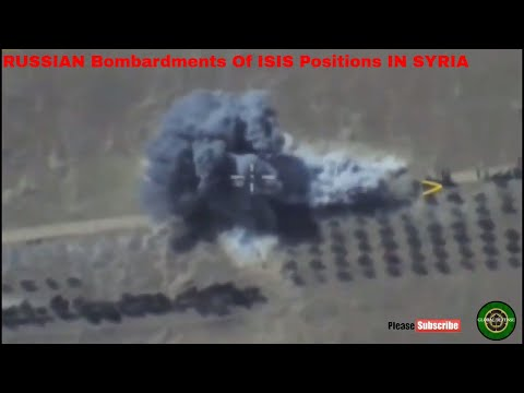 RUSSIAN COST EFFECTIVE  AIRSTRIKES, Bombardments Of ISIS Positions IN SYRIA |Tu-22M3|su25|su23|su34