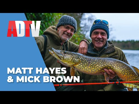 MATT HAYES And MICK BROWN With Angling Direct - PIKE FISHING