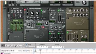 How to Create an Electro Bass Sound - Reason Tips