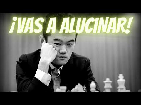 ¡LA MEJOR PARTIDA DEL 2017!: Jinshi Bai vs Ding Liren (China, 2017)