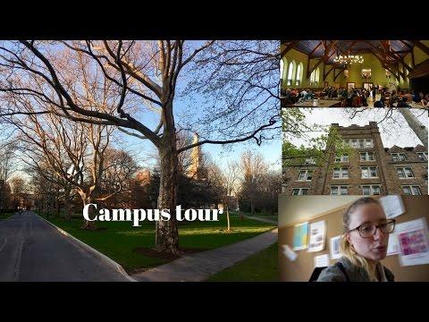 Tour de mon campus americain /USA year abroad series