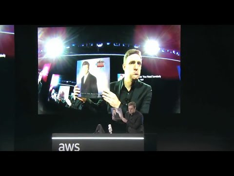 AWS re:Invent 2017 - AWS DeepLens Demo by Dr. Matt Wood