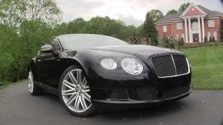 Bentley Continental GT Speed 2013 Videos