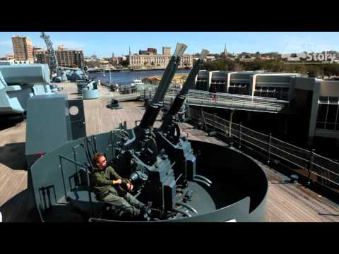 USS North Carolina (BB-55) Battleship Tour in Wilmington, NC with Road Trip Story