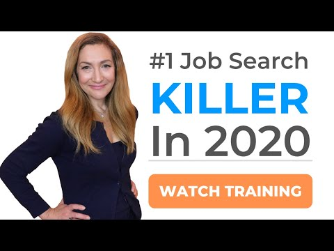 #1 Job Search Killer In 2020