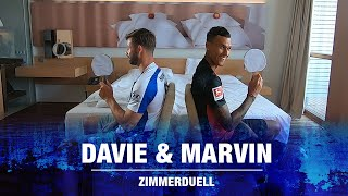Zimmerduell - Davie ⚪ & Marvin 🔵 - Hertha BSC - 2019